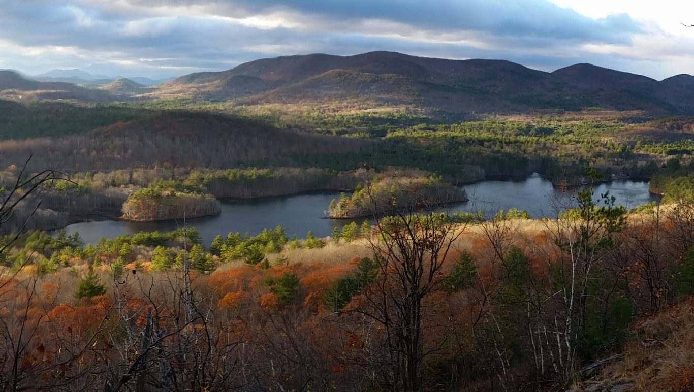 An Overlook View of Clemons Pond